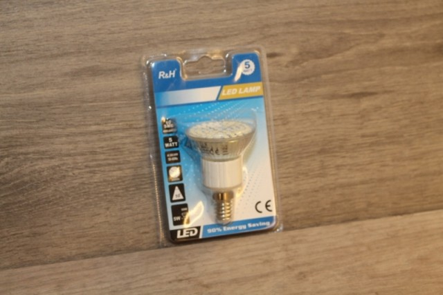 Aanbieding Led Lampen : R h led lamp v v e fitting lumen w korting